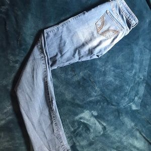 Hollister skinny low rise jeans